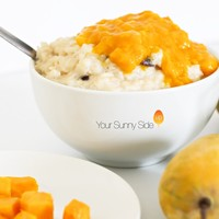 Classic Rice Pudding (with a Mango twist)