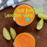 Mango Marriage Saver Smoothie and Mask
