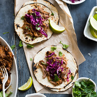 Asian Pulled Pork/Kimchi Tacos inspired from Austin Photo Trip w/ Hyatt Place