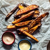 Beer Oven Fries