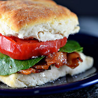 Biscuit BLT Sandwich Recipe