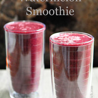 Blueberry Watermelon Smoothie Recipe