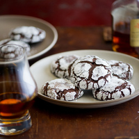 Bourbon Dark Chocolate Crack Cookies Recipe