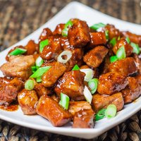Braised Pork in Sweet Soy Sauce
