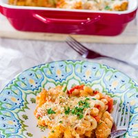 Chicken and Veggie Pasta Casserole