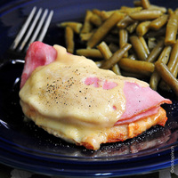 Chicken with Ham and Swiss Recipe