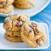 Outrageous Chocolate Chip Peanut Butter Cookies