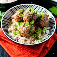 Crockpot Cranberry and Orange Meatballs
