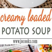 Creamy Loaded Potato Soup