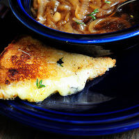 Grilled Cheese with Thyme Recipe