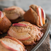 Ginger Peach Muffins – Good To The Grain Cookboo000