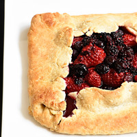 Rustic Mixed Berry Tart Recipe
