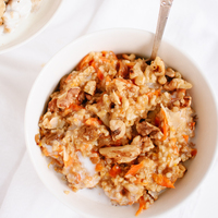 Megan's Morning Glory Oatmeal