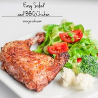 Easy Salad and BBQ Chicken – It's What's for Dinner