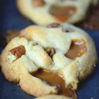 Salted Caramel Pecan Cookies Recipe