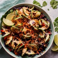 Spiralized Thai Salad