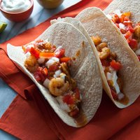 Sweet and Smoky Shrimp Tacos