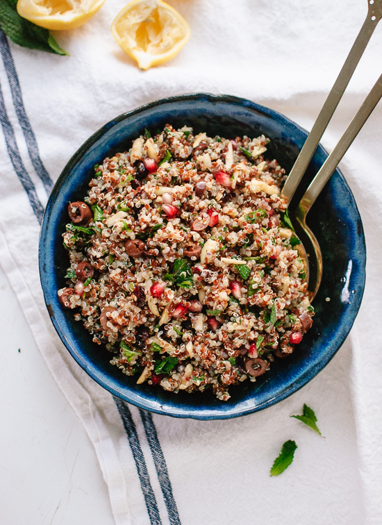 Herbed Quinoa and Pomegranate Salad