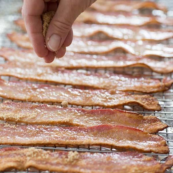 Caramelized Oven-Cooked Bacon