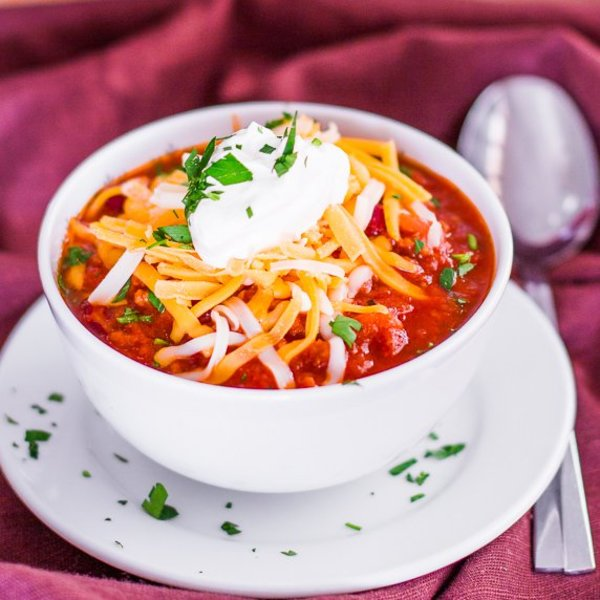 Healthier Beef Chili