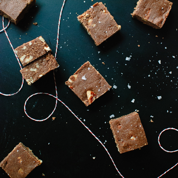 Easy Salted Oat Fudge