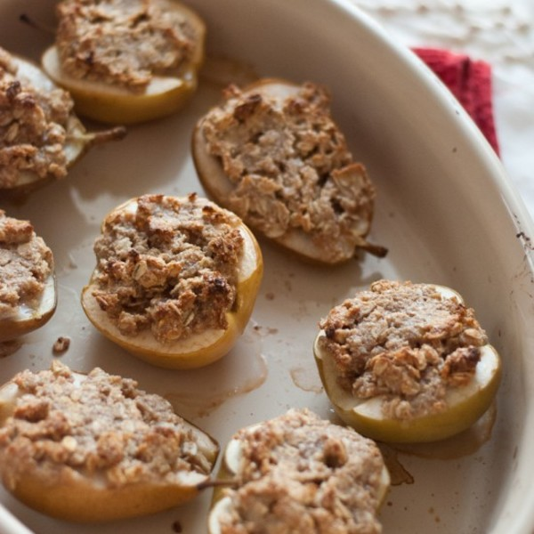 Individual Pear and Apple Crisps