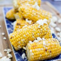 Chili and Lime Grilled Corn