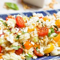 Lemon-Orzo Pasta Salad