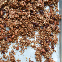 Chocolate Almond Olive Oil Granola
