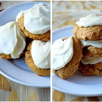 Ginger-Studded Pumpkin Cookies