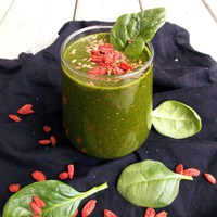 Goji Berries Green Smoothie