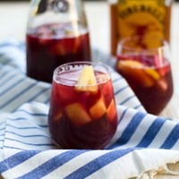 Friday at Five: Fireball Sangria