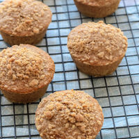 Healthy Maple Oatmeal Muffins