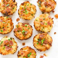 Homemade Tater Tots with Cheese and Bacon {VIDEO!}