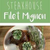 Steakhouse Filet Mignon