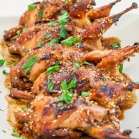 Asian Style Roasted Quail
