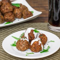 Cajun Meatballs in Fire Roasted Tomato Sauce