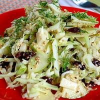 Cabbage and Sesame Seeds Salad