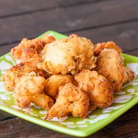 Deep Fried Cauliflower Pieces