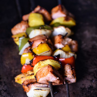 Easy Grilled Pork Tenderloin and Pineapple Skewers Recipe