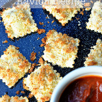 Lighter Fried Ravioli Recipe