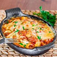 One-Skillet Ham and Cheese Gnocchi