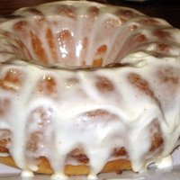 Lemon and Orange Cake with Lemon Honey Icing