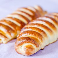 Mini Peach Strudels