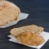 No Knead Dutch Oven Whole Wheat Bread